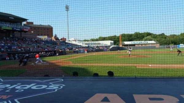 Ripken Stadium, section: 109, row: A, seat: 3