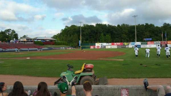 Dodd Stadium, section: 3, row: A, seat: 1