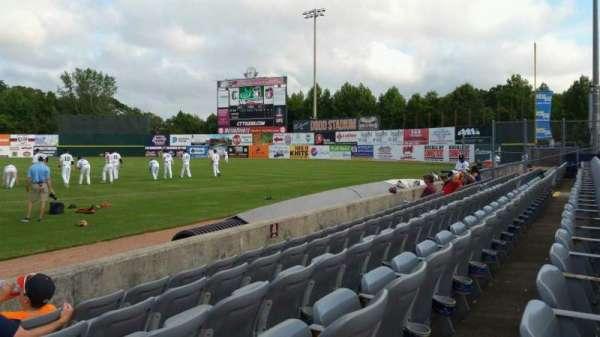 Dodd Stadium, section: 3, row: A, seat: 1