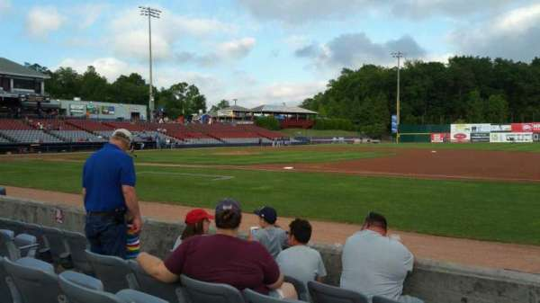 Dodd Stadium, section: 3, row: A, seat: 7