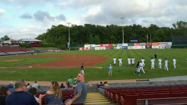 Dodd Stadium, section: 3, row: N, seat: 1