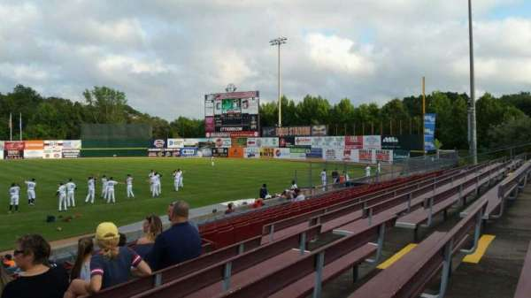 Dodd Stadium, section: 3, row: N, seat: 11