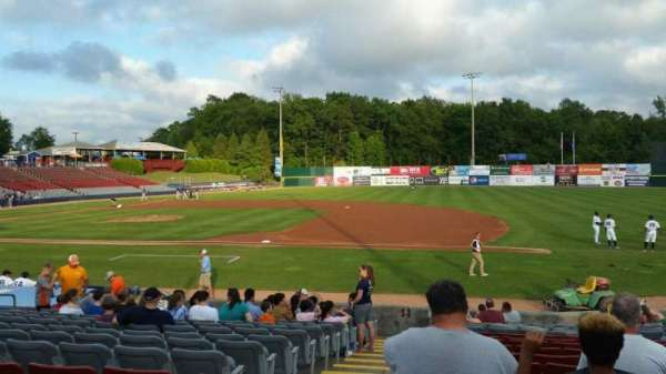 Dodd Stadium, section: 3, row: N, seat: 22