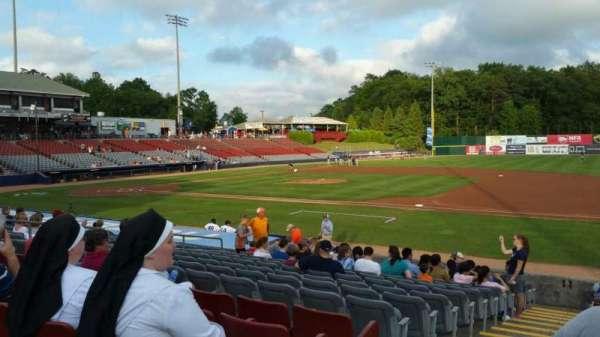 Dodd Stadium, section: 3, row: N, seat: 22