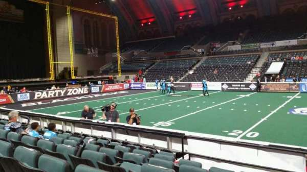 Boardwalk Hall, section: 105, row: HH, seat: 18
