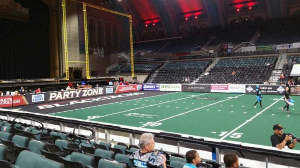Boardwalk Hall, section: 105, row: HH, seat: 10