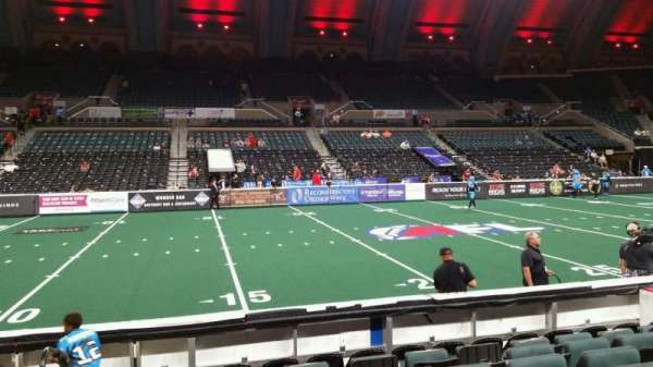 Boardwalk Hall, section: 105, row: HH, seat: 1