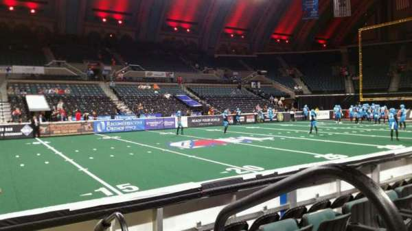 Boardwalk Hall, section: 104, row: EE, seat: 18