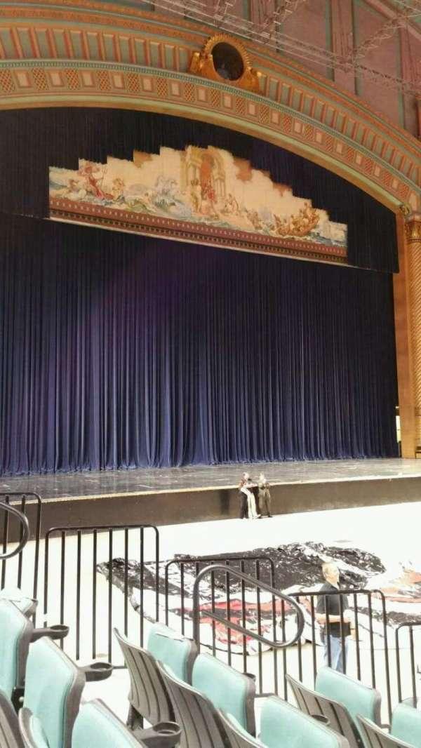 Boardwalk Hall, section: 103, row: JJ, seat: 8