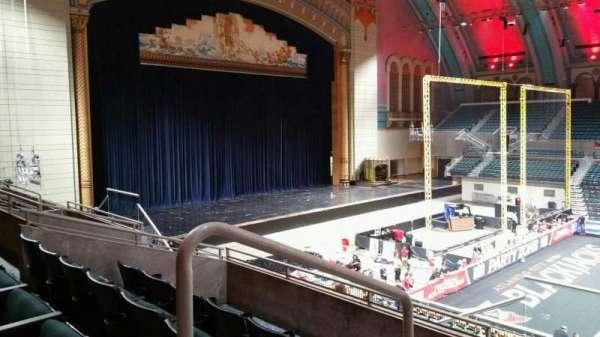 Boardwalk Hall, section: 205, row: F, seat: 1