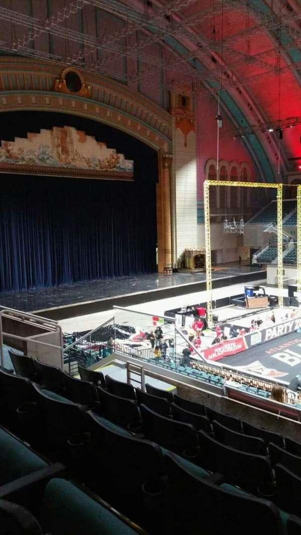 Boardwalk Hall, section: 205, row: F, seat: 9
