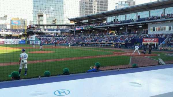 Dunkin' Donuts Park, section: 115, row: F, seat: 10