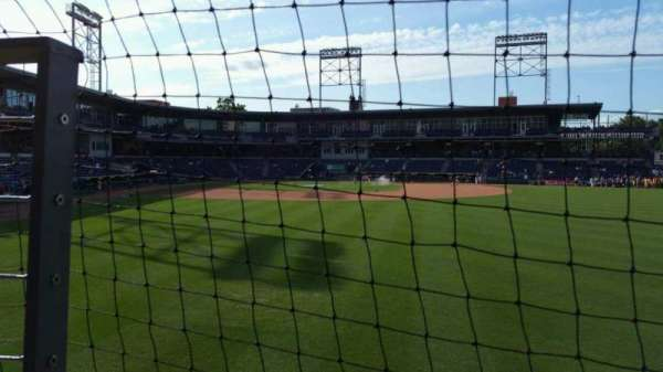 Dunkin' Donuts Park, section: 125, row: A, seat: 6