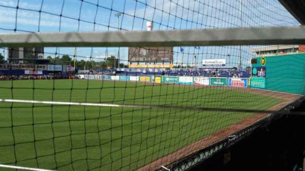 Dunkin' Donuts Park, section: 125, row: A, seat: 1