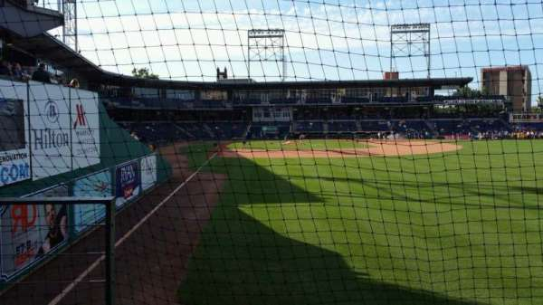 Dunkin' Donuts Park, section: 128, row: B, seat: 16