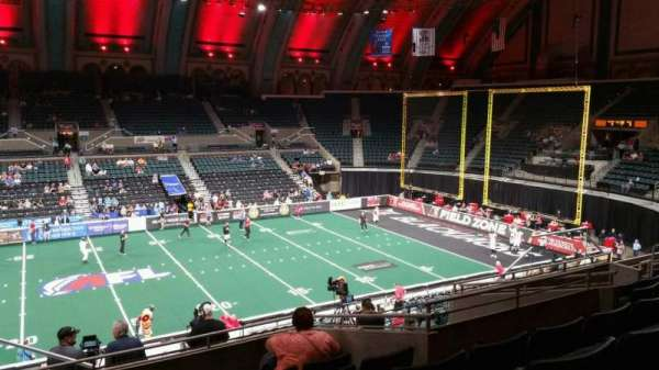 Boardwalk Hall, section: 206, row: H, seat: 1