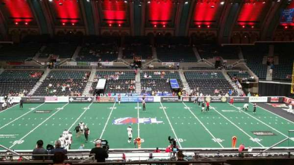 Boardwalk Hall, section: 206, row: H, seat: 8
