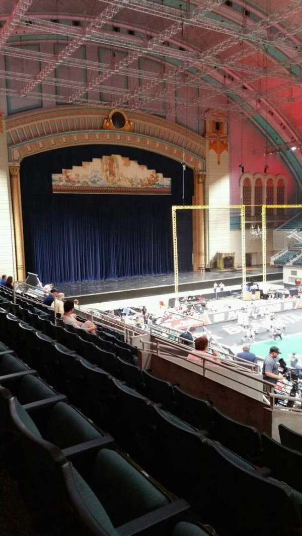 Boardwalk Hall, section: 206, row: H, seat: 17