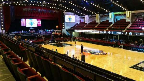Westchester County Center, section: 50LFT, row: D, seat: 59
