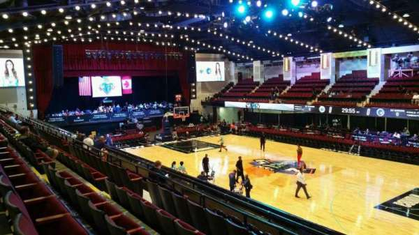Westchester County Center, section: 60LFT, row: F, seat: 60