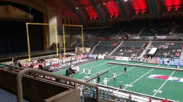 Boardwalk Hall, section: 207, row: D, seat: 1
