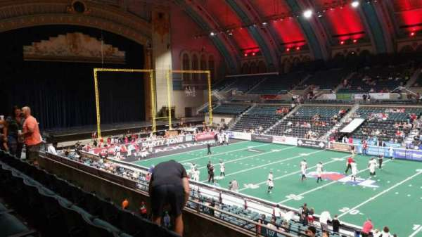 Boardwalk Hall, section: 207, row: D, seat: 21