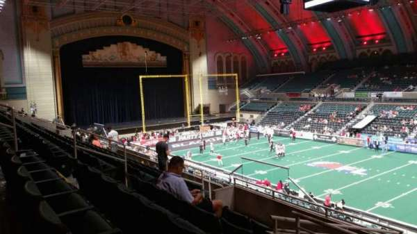 Boardwalk Hall, section: 208, row: G, seat: 11
