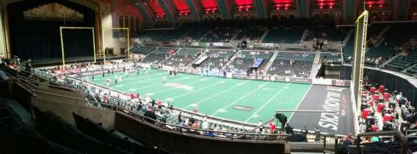 Boardwalk Hall, section: 208, row: G, seat: 22