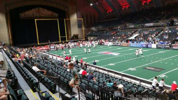 Boardwalk Hall, section: 109, row: E, seat: 1