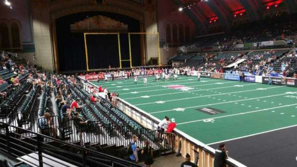 Boardwalk Hall, section: 110, row: C, seat: 6