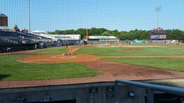 Ripken Stadium, section: 105, row: D, seat: 1