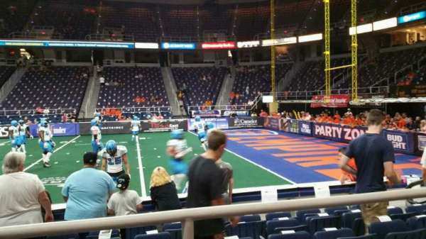 Times Union Center, section: 103, row: B, seat: 9