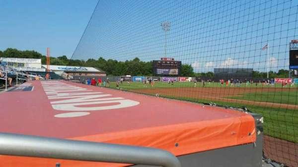 Ripken Stadium, section: 108, row: B, seat: 6
