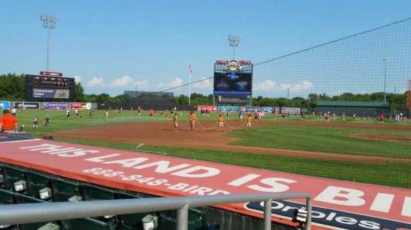Ripken Stadium, section: 110, row: D, seat: 10