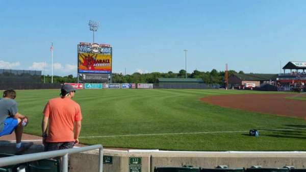 Ripken Stadium, section: 122, row: E, seat: 10