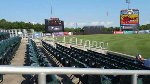 Ripken Stadium, section: 124, row: G, seat: 11