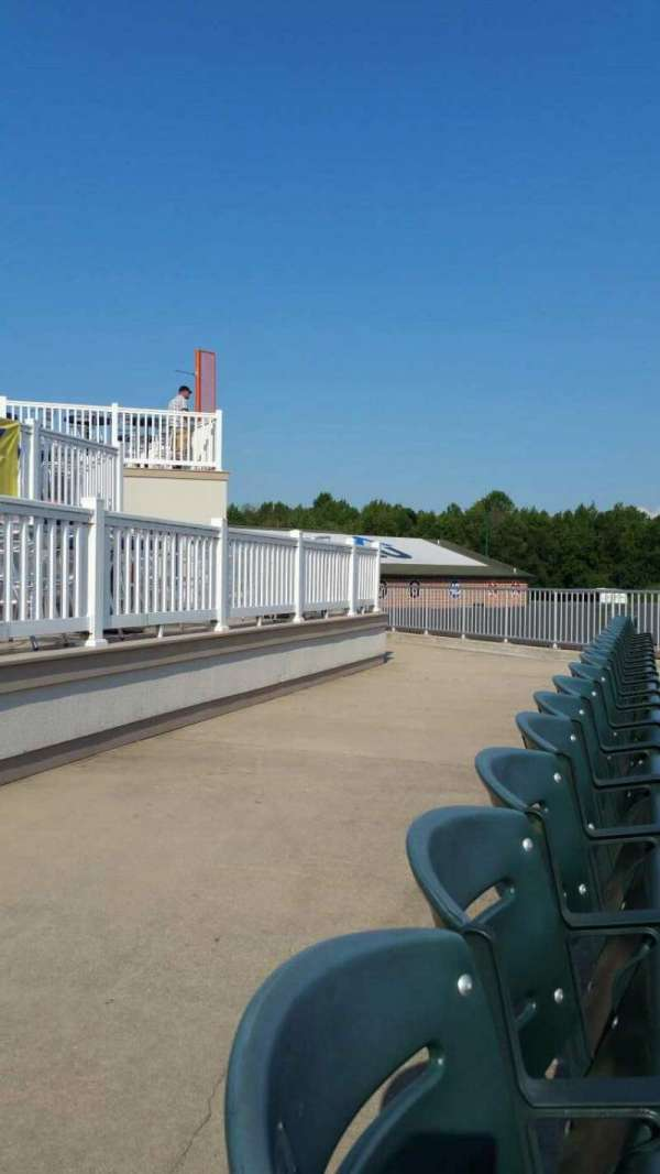 Ripken Stadium, section: 126, row: H, seat: 1
