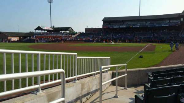 Ripken Stadium, section: 126, row: F, seat: 18