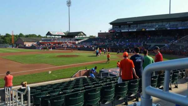 Ripken Stadium, section: 210, row: A, seat: 1