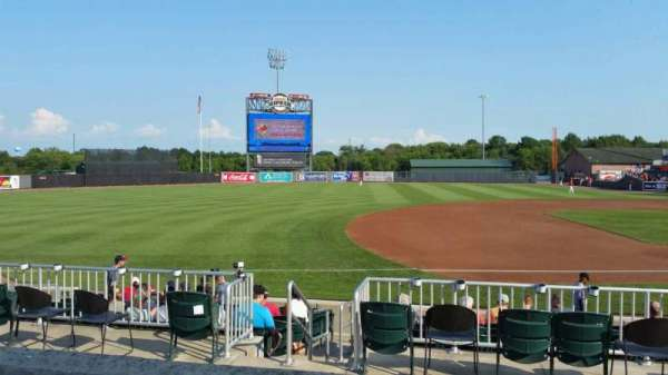 Ripken Stadium, section: 210, row: B, seat: 8