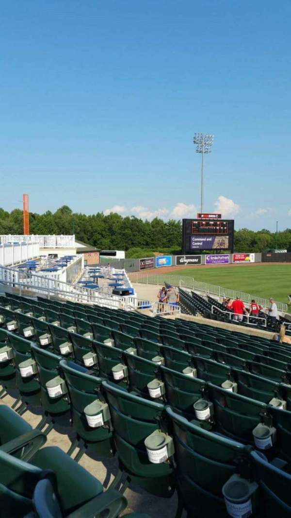 Ripken Stadium, section: 212, row: M, seat: 1