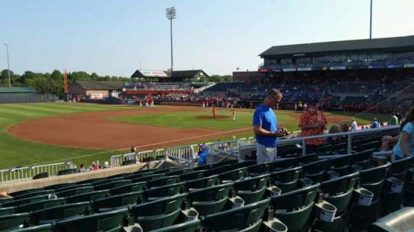 Ripken Stadium, section: 212, row: J, seat: 10