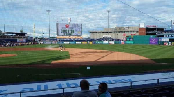Dunkin' Donuts Park, section: 106, row: K, seat: 14