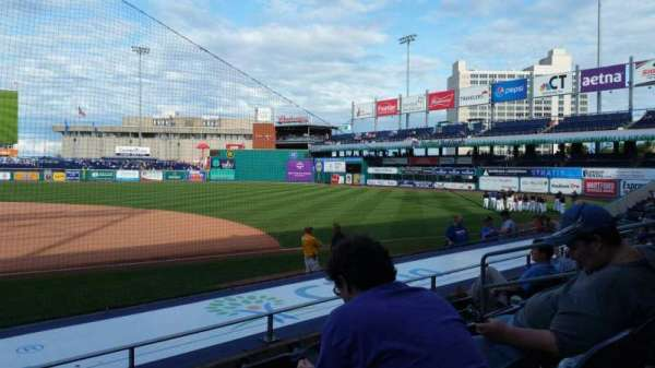 Dunkin' Donuts Park, section: 106, row: J, seat: 9