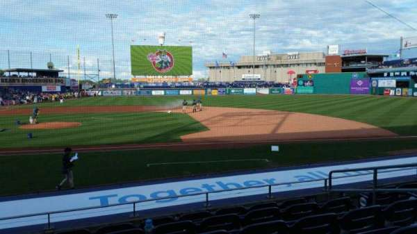 Dunkin' Donuts Park, section: 107, row: L, seat: 7