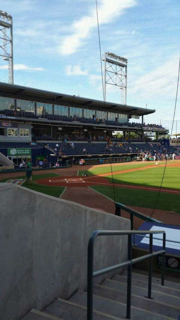 Dunkin' Donuts Park, section: 107, row: L, seat: 14