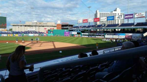 Dunkin' Donuts Park, section: 108, row: L, seat: 1