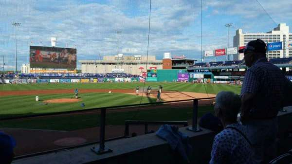 Dunkin' Donuts Park, section: 108, row: L, seat: 22