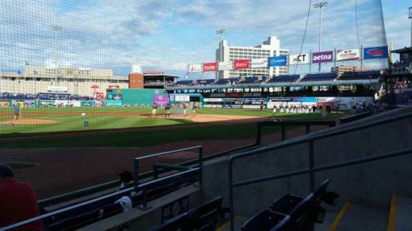 Dunkin' Donuts Park, section: 109, row: D, seat: 6
