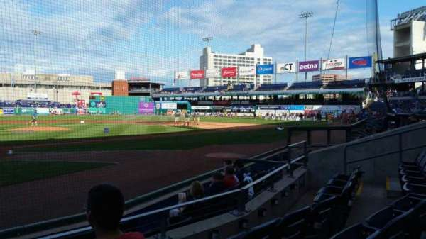 Dunkin' Donuts Park, section: 109, row: D, seat: 13